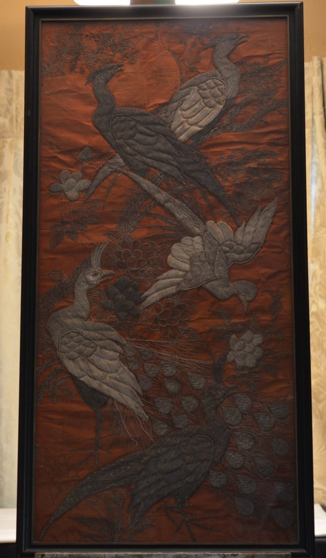 Chinese Metal Thread Embroidery