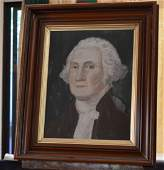 Portrait of American President George Washington