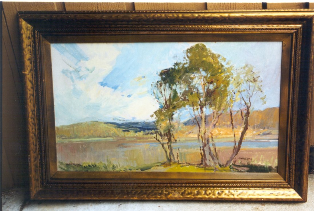 Narrabeen Lakes, Australia, by Sydney Long