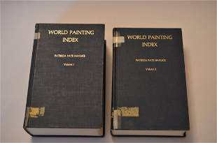 World Painting Index, by Patricia Pate Havlice