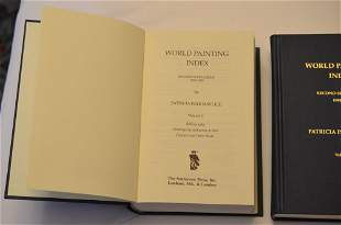 World Painting Index, Second Supplement 1980-1989, by