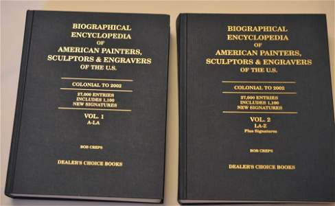 Biographical Encyclopedia of American Painters,