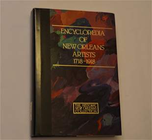 Encyclopedia of New Orleans Artists 1718-1918; Edited