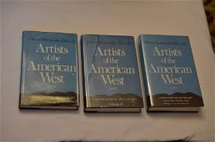 Artists of the American West, by Doris Ostrander Dawdy