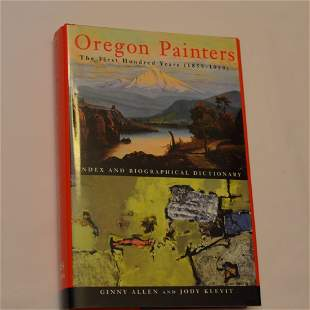 Oregon Painters, The First Hundred Years (1859-1959),