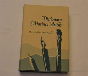 Dictionary of Marine Artists, by Dorothy E.R.