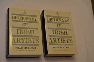 A Dictionary of Irish Artists, by W.G. Strickland