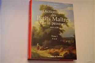 Dictionnaire des Petits Maitres de la peinture