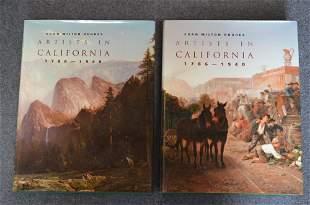 Artists in California 1786-1940, by Edan Milton Hughes