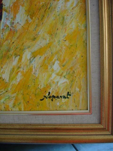 NOPARAT LIVISIDDHI Orig ART Painting FIELD HARVESTERS - 3