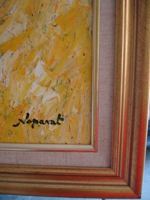 NOPARAT LIVISIDDHI Orig ART Painting FIELD HARVESTERS - 9