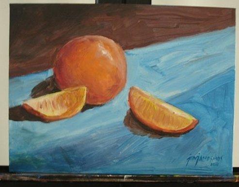 ORANGES Original Acrylic Painting