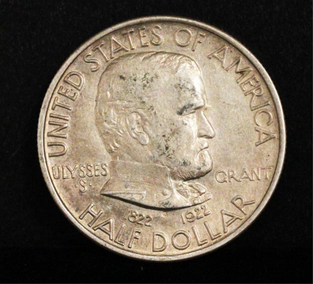 1922 Ulysses Grant Memorial Half Dollar