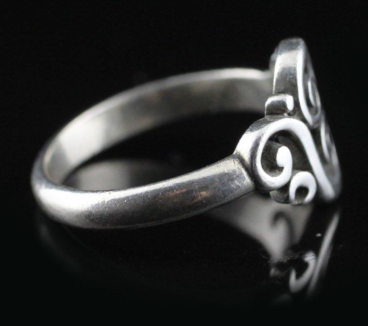 "James Avery ""Spanish Swirl"" Sterling Ring - 2"