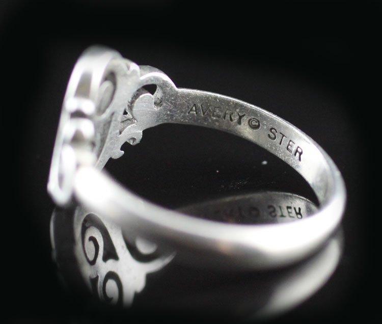 "James Avery ""Spanish Swirl"" Sterling Ring - 3"