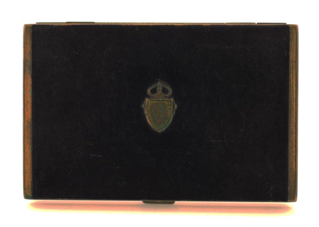 Vintage Cedar Lined Cigarette Case
