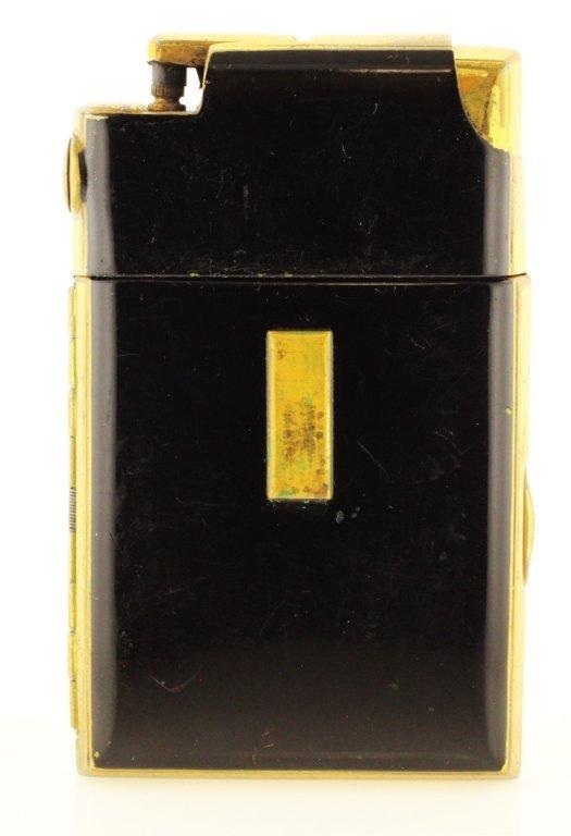Vintage Marathon Cigarette Case & Lighter Combo