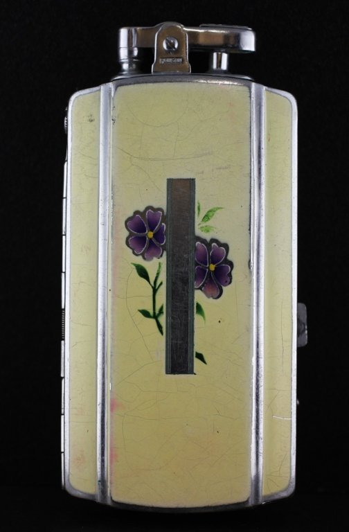 Vintage Ronson Cigarette Case Lighter Combo