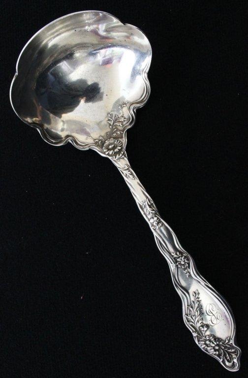 International Silver Mille Fleurs Gravy Ladle