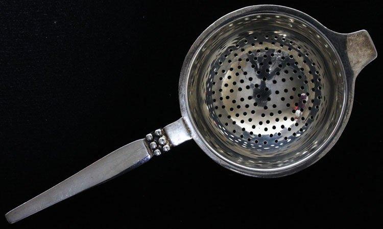 American Silver Tea Strainer