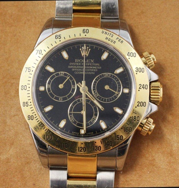 Rolex Daytona 18k/S.S. Chrono Watch