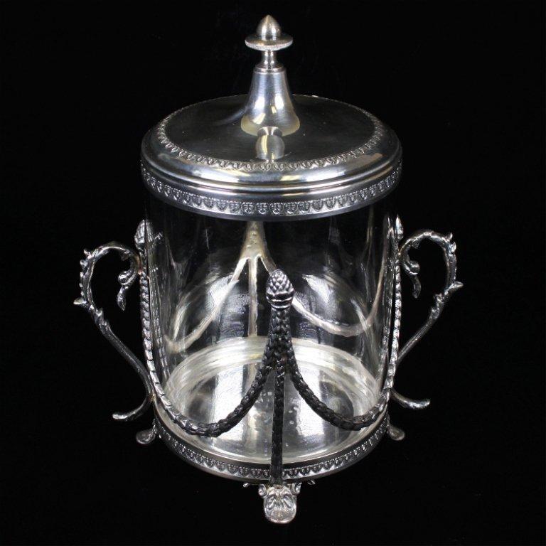 Vintage Italian Biscuit Jar