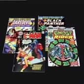 Set of Four Marvel Comics