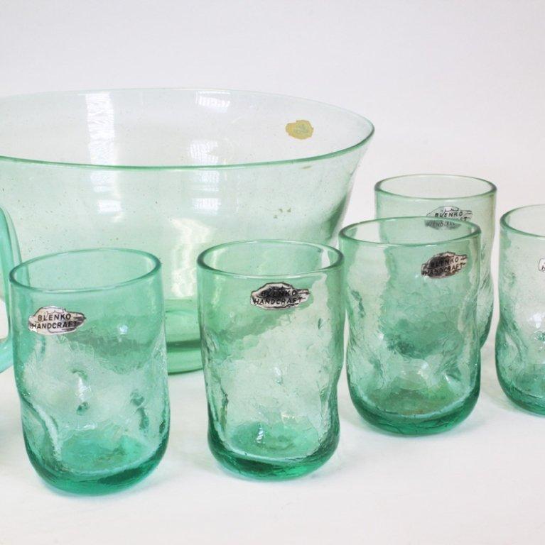 Blenko Handcraft Glassware Set - 2