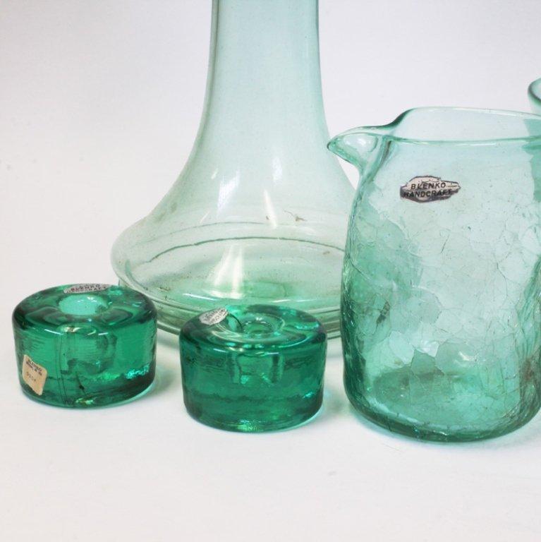 Blenko Handcraft Glassware Set - 3