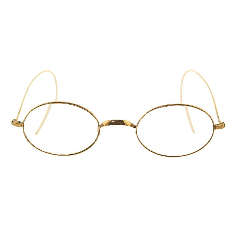 Vintage 10k Gold Wire Frame Glasses