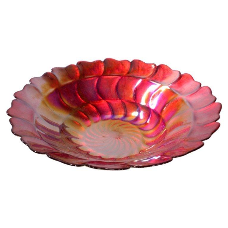Large Iridized Bowl
