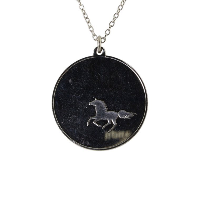 Mustang Pendant and Sterling Chain