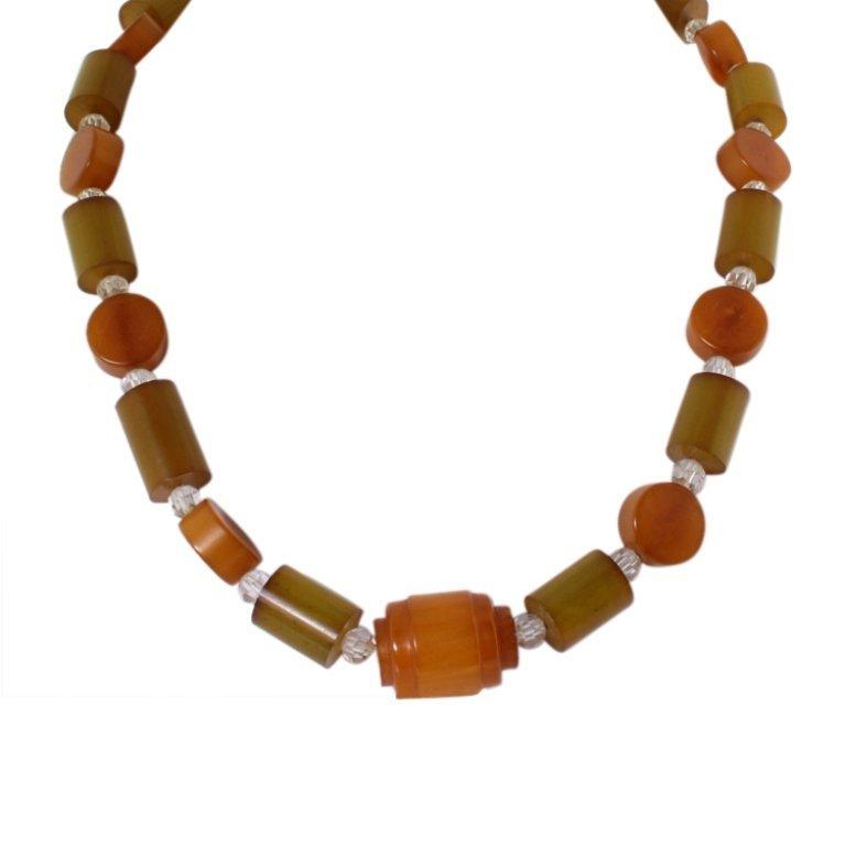 Vintage Bakelite Necklace--no clasp