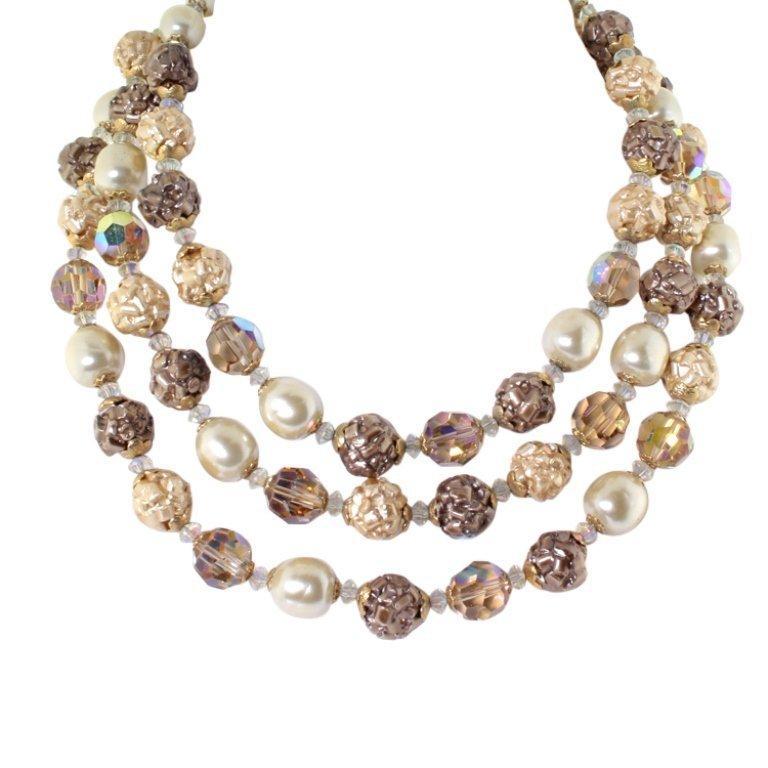 Vendome Vintage Bead Necklace