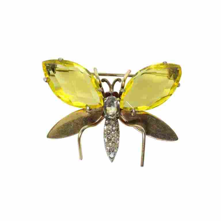 CR Co. Insect Brooch