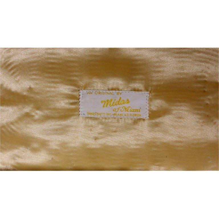Vintage Midas of Miami Poodle Purse - 3