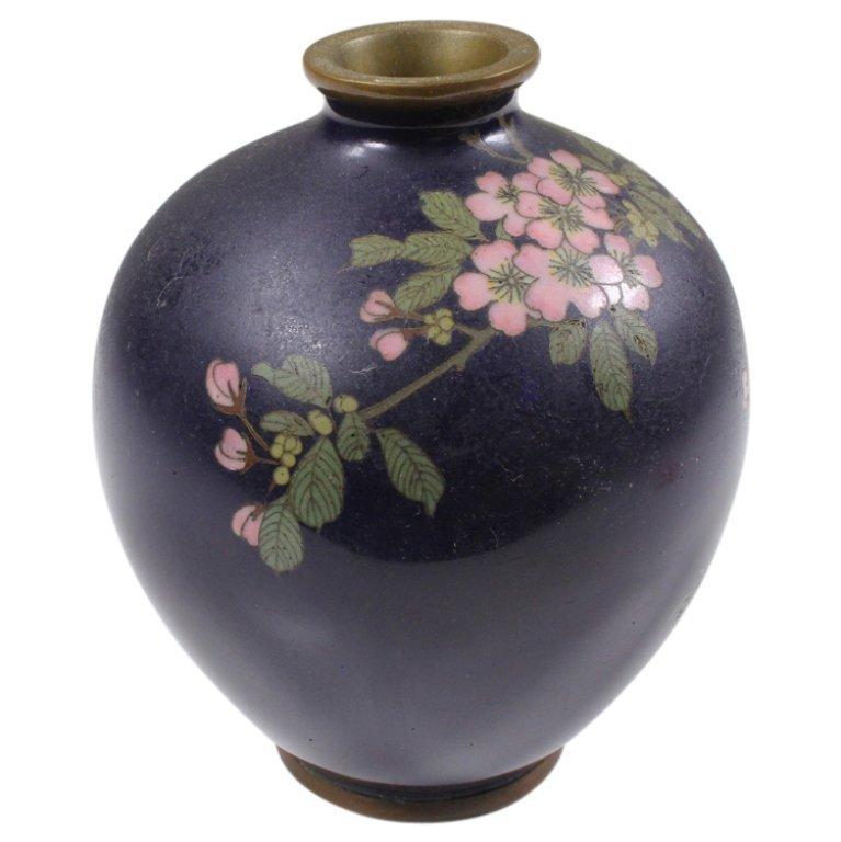 Cloisonne Small Vase