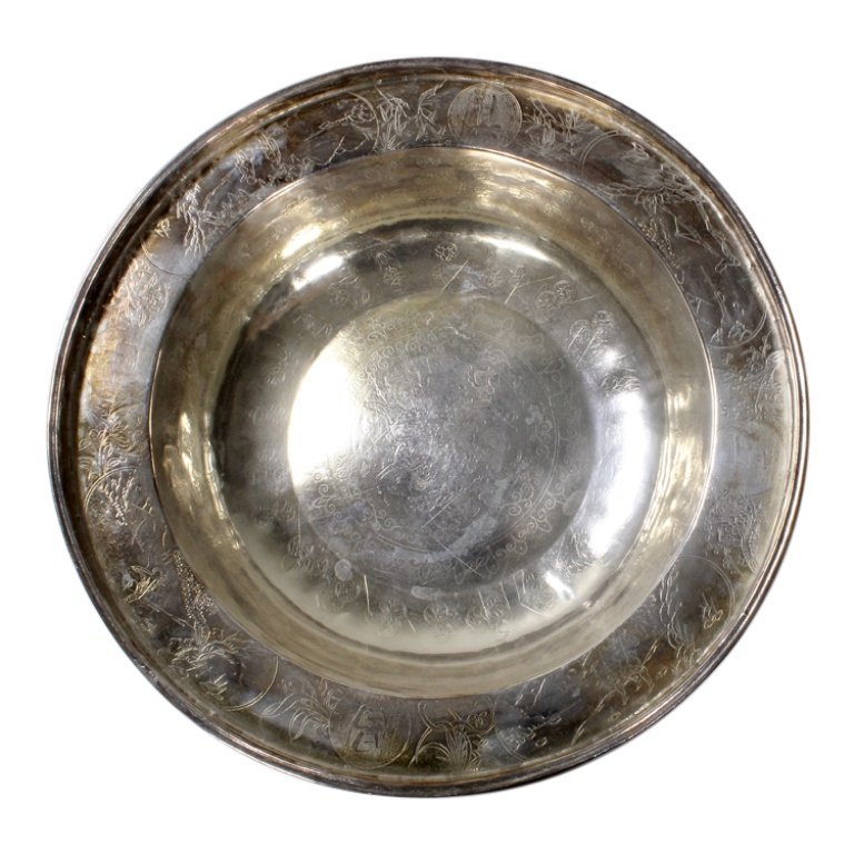 Asian Etched Bowl