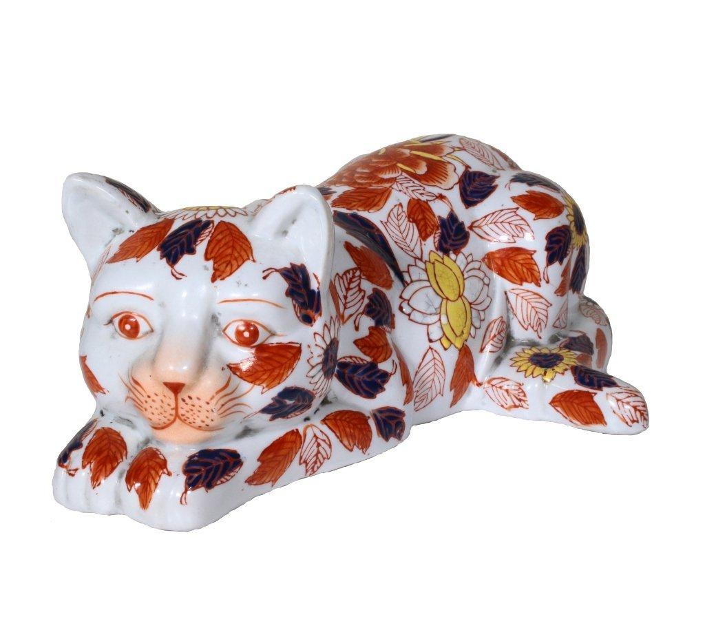 Decorative Porcelain Asian Cat