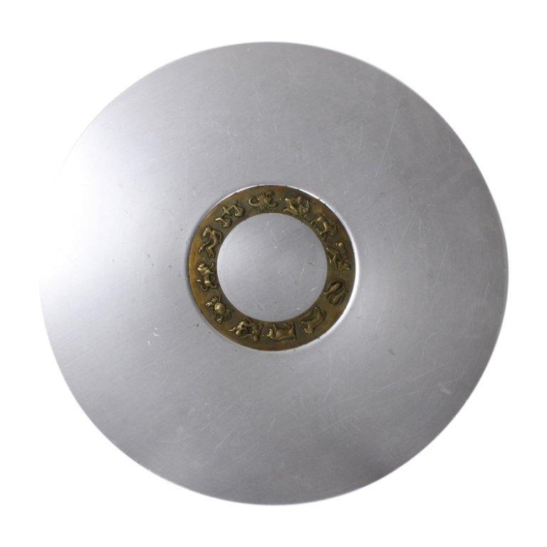 Large Platter with Zodiac Symbols