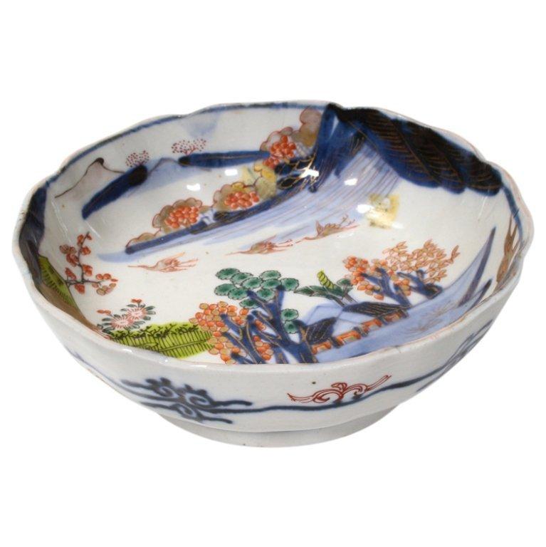Vintage Japanese Immari Bowl