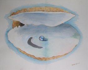 Jodie Biddle Original Watercolor