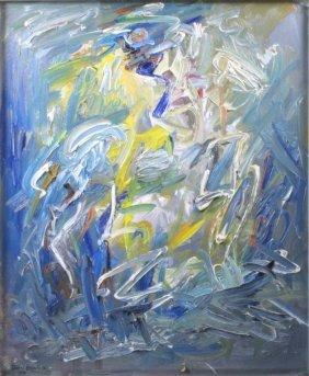 David Brownlow Original Abstract Oil