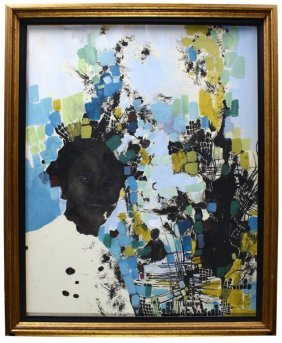 Janis Mayhew Original Acrylic On Paper