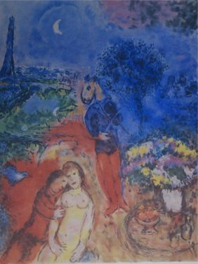 Marc Chagall Ltd. Edition Framed Print