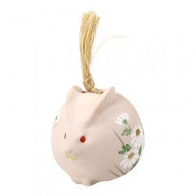 Handpainted Rabbit Bell