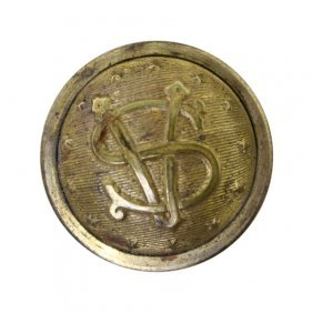 Civil War Organization Button