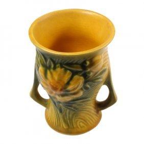 Roseville Pottery Peony Vase