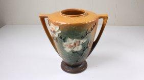 Roseville Pottery Magnolia Double Handle Vase