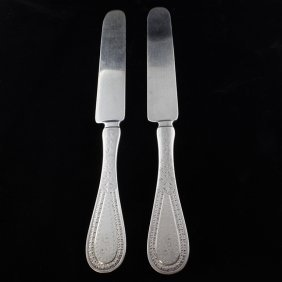 Shreve, Crump & Low Brite Cut 2 Knives